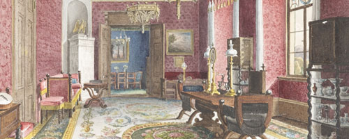 House Proud: 19th-Century Watercolor Interiors