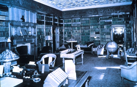 Library at Skibo Castle
