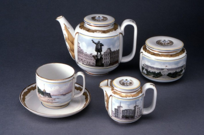 Leningrad tea service. 