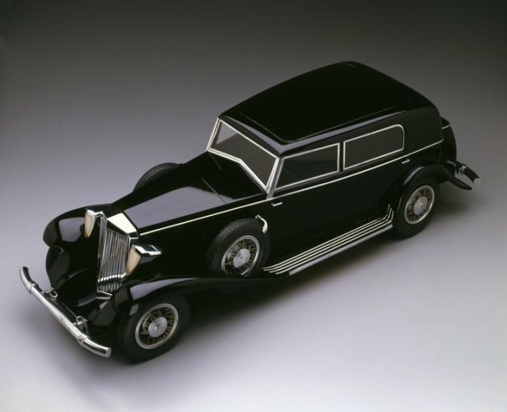 Model of the Marmon Sixteen sedan