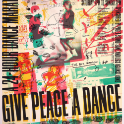 Give Peace a Dance by Art Chantry