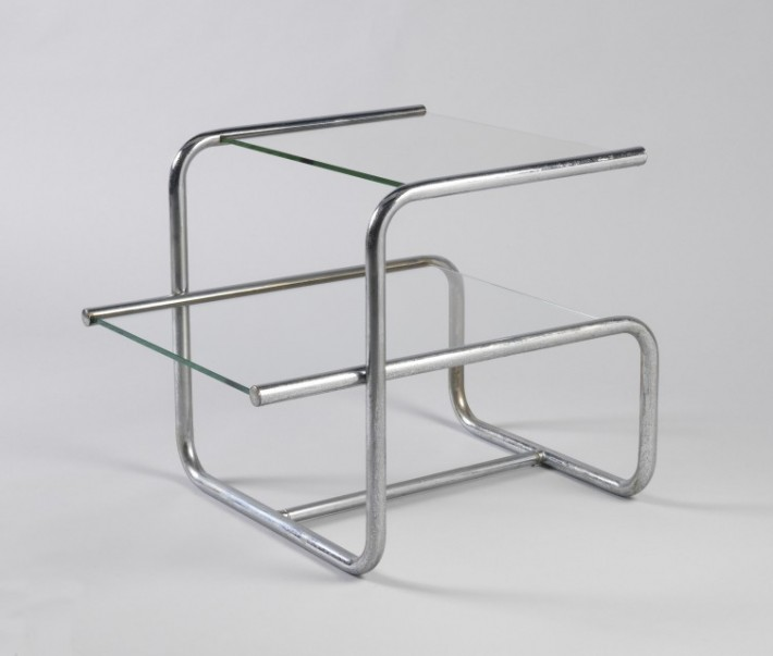 End table designed by Donald Deskey