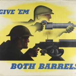 Give 'Em Both Barrels by Jean Carlu