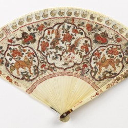 early 18th Chinese fan for the Dutch market