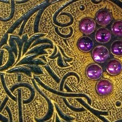 Detail of binding by Sangorski & Sutcliffe of London, ca. 1907
