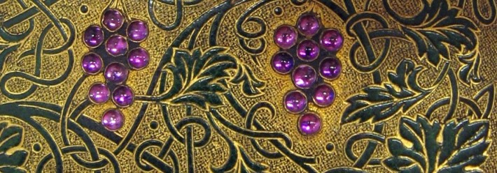 Detail of binding by Sangorski &amp; Sutcliffe of London, ca. 1907