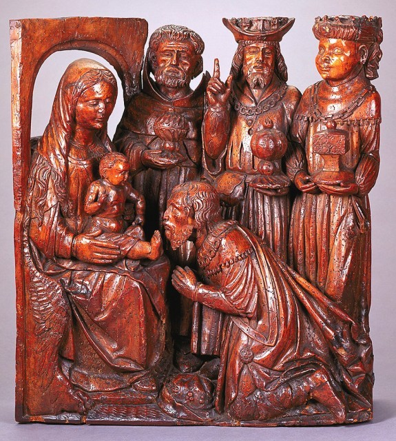 Figural Group. Probably Flanders, ca. 1525