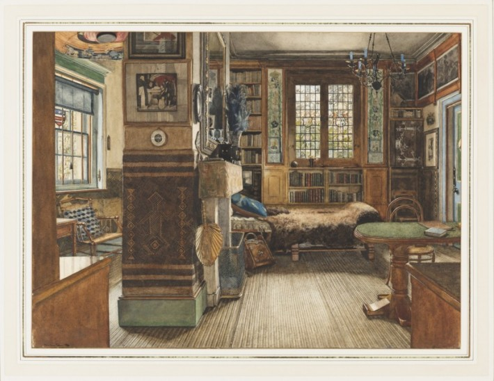 Sir Lawrence Alma-Tadema&#039;s Library in Townshend House