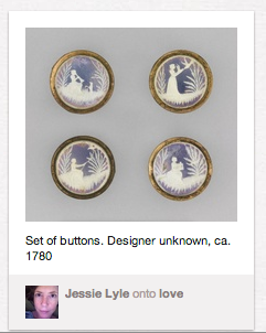 delicate ornamented buttons from cooper-hewitt collection posted on pinterest.