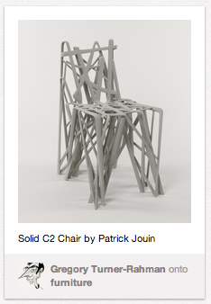 c2 chair from cooper-hewitt collection posted on pinterest.
