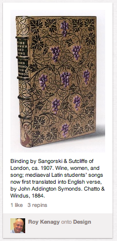book posted from cooper-hewitt collection to pinterest