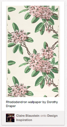 wallcovering from cooper-hewitt collection posted on pinterest.