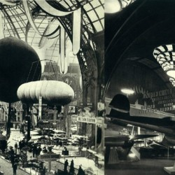 Grand Palais Aeronautic and Automotive exhibitions 1909 and 1938