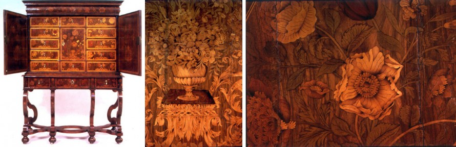 Marquetry cabinet, 1675-1700, English