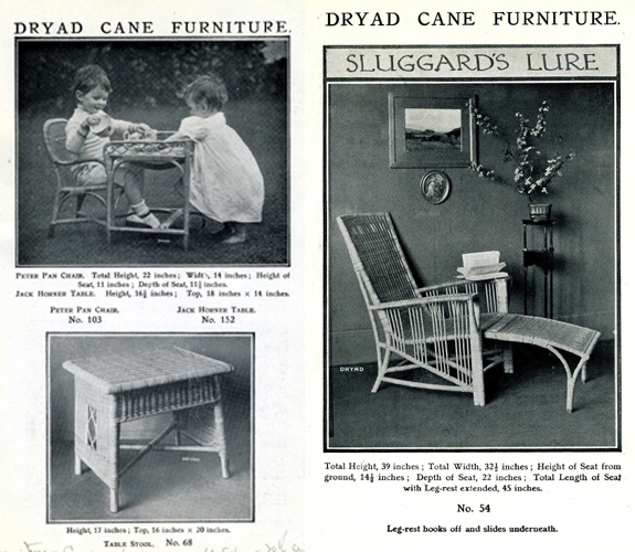 Dryad Cane Children's furniture, Sluggard's Lure